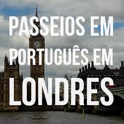 Guia brasileiro em Londres